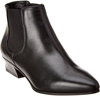 Aquatalia Flanna Weatherproof Leather Bootie