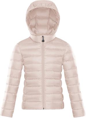 Moncler New Iraida Hooded Zip-Front Coat, Size 8-14