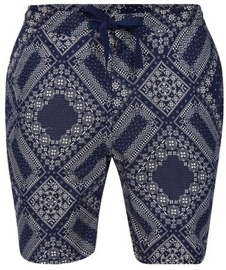 Officine Generale Bandana printed shorts