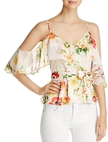 Yumi Kim Truth or Flair Cold Shoulder Top
