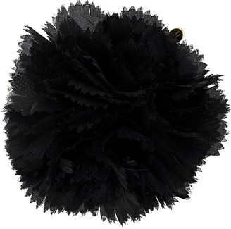 Alexandre Vauthier Tulle Flower-Applique Brooch