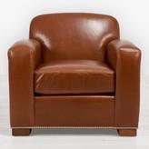 Ralph Lauren Home Grant Leather Club Chair Brown