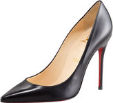 Decollete Calfskin Pointed-Toe Pump