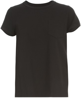 Sacai World Map T-shirt S/s Crew Neck W/pocket
