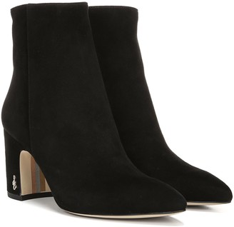Sam Edelman Leather Ankle Boots - Hilty