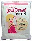 Aquis Mimi's Diva Dryer Hair Towel, Large, White 1 ea