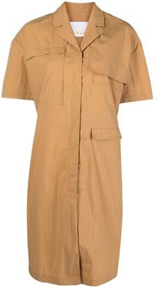 REMAIN Short-Sleeved Shirt Dress