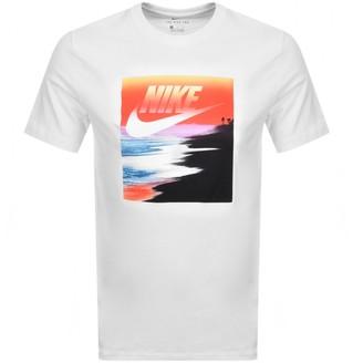 Nike Summer Photo Logo T Shirt White