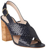 LK Bennett L.K.Bennett Mel Cross Strap Block Heeled Sandals