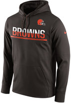 Nike Men's Cleveland Browns Circuit Pullover Hoodie