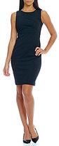 Calvin Klein Starburst Side Rouche Dress