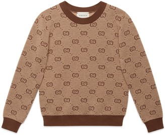 Gucci Children's GG wool sweater
