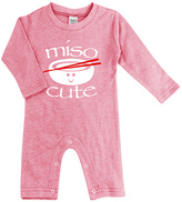 Urban Smalls Heather Pink 'Miso' Playsuit - Infant