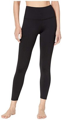 Beyond Yoga Sportflex High Waisted Midi Leggings (Black) Women's Casual Pants
