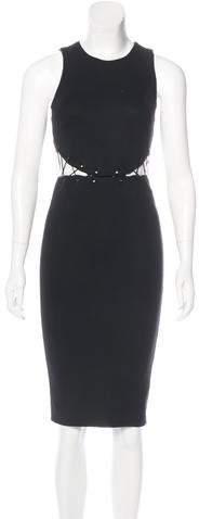 Cushnie et Ochs Cutout-Accented Midi Dress