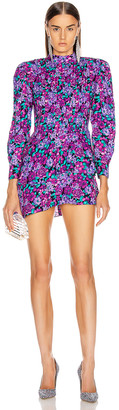 RE/DONE x Attico Tiered Mini Dress in Assorted   FWRD