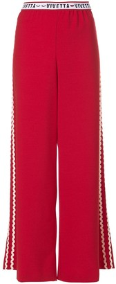 VIVETTA Wide-Leg Track Pants