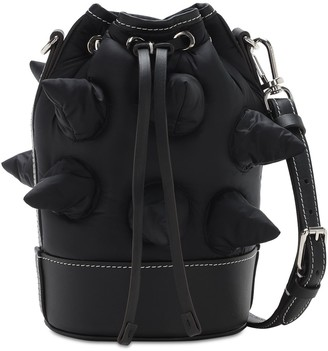 MONCLER GENIUS Jw Anderson Leather & Nylon Bag