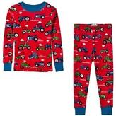 Hatley Red Farm Tractors Print Pyjamas