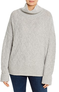b new york Slouchy Mock Neck Sweater