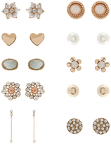Accessorize 20 X Annelise Stud Earrings Set