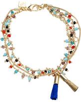 Rebecca Minkoff Beaded Tri-Layer Bracelet