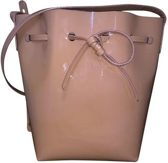 Mansur Gavriel Bucket Pink Patent leather Handbags