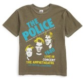 Junk Food Clothing Boy's The Police '80 La Amphitheatre Concert T-Shirt