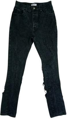 Palm Angels Black Denim - Jeans Jeans for Women