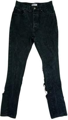 Palm Angels Black Denim - Jeans Jeans