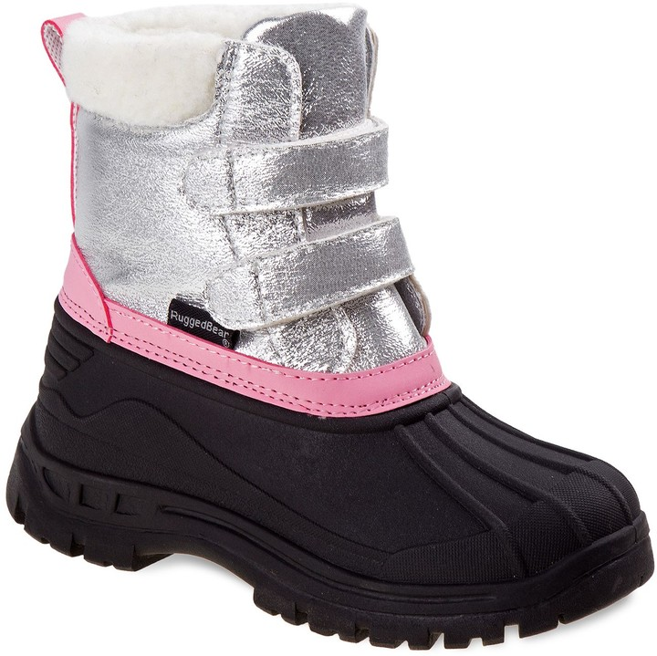 55c05fd5485 Rugged Bear Girls' Winter Boots