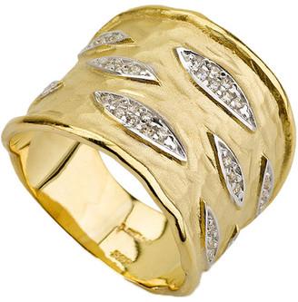 I. Reiss 14K 0.21 Ct. Tw. Diamond Cuff Ring