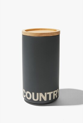 Country Road Demm Tall Canister