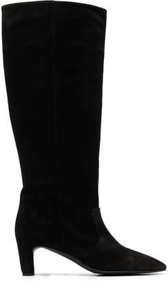 Del Carlo Suede Knee-High Boots