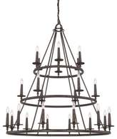 Quoizel Voyager Malaga 24-Light Chandelier