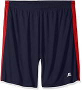 Russell Athletic Men's Big and Tall Dri-Power Side Stripe Short