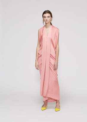 Zero Maria Cornejo Eve Long Foil Dress