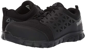 Reebok Work Sublite Cushion Work Comp Toe EH (Black) Men's Shoes