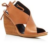 Rebecca Minkoff Eden Criss Cross Wedge Sandals