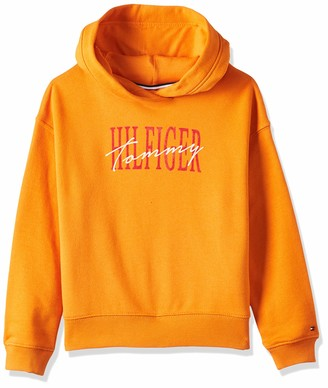 Tommy Hilfiger Girl's Essential Graphic Logo Hoodie
