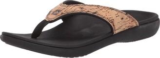 Spenco Women's Yumi 2 Cork Sandal Flip-Flop