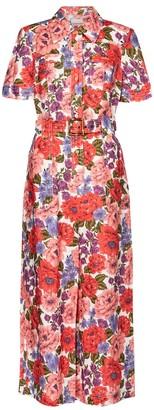 Zimmermann Poppy floral linen jumpsuit