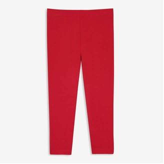 Joe Fresh Toddler Girls' Solid Legging, Red (Size 2)