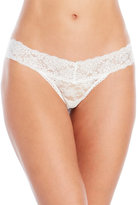 Jessica Simpson Two-Pack I Do Bridal Lace Thongs