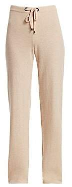 Saks Fifth Avenue Women's COLLECTION Relaxed Cashmere Drawstring Joggers