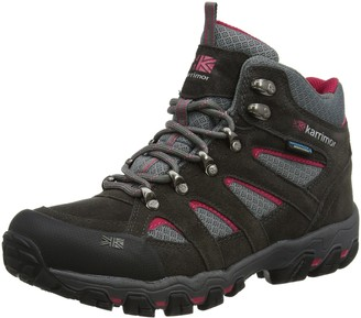 Karrimor Bodmin Mid 5 Ladies weathertite Dark Grey/Cochineal 8 UK (42 EU)