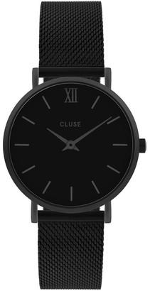 Cluse Minuit CW0101203012 Mesh Full Black