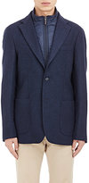 Piattelli MEN'S HERRINGBONE TWO-BUTTON SPORTCOAT