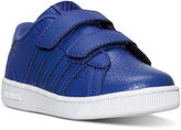 K-Swiss Little Girls' Hoke Strap Casual Sneakers from Finish Line