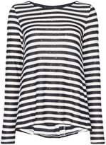 Marella Girante sequin striped knit